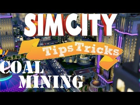 Simcity Coal Mining Tutorial (Tips & Tricks)