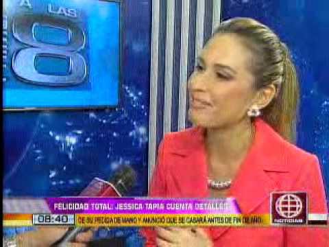Jessica Tapia Anunció Que Dejará La Televisión Para Dedicarse A Su Matrimonio