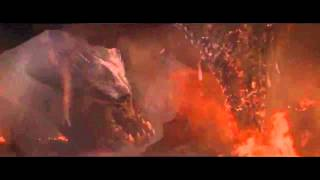 HD godzilla 2014 final battle/fight in San clip mutos flying female death scene atomic breath HD 2.0