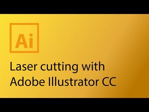 Laser cutting with Adobe Illustrator