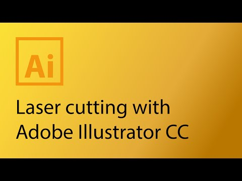 Laser cutting with Adobe Illustrator