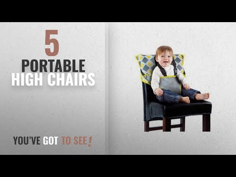 Top 10 Portable High Chairs [2018]: Cozy Cover Easy Seat – Portable Travel High Chair and Safety
