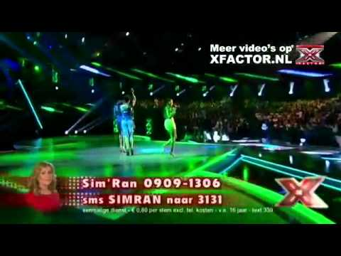 The X Factor 2011 - Liveshow 1 - Sim'Ran: Only Girl in the World