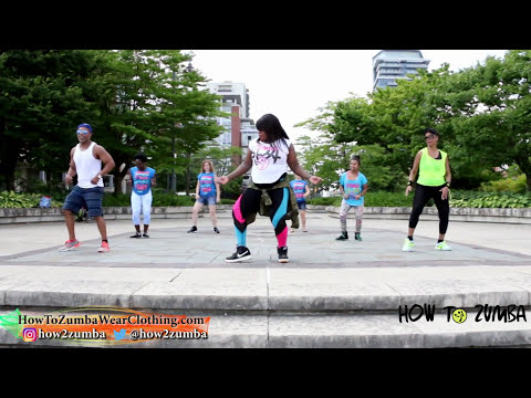 Wine to Di Top by Vybz Kartel ft. Wizkid (Dancehall, Zumba® Fitness Choreography) @How2Zumba