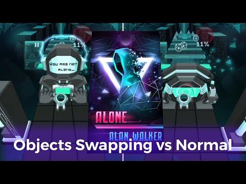 Rolling Sky Alone - Alan Walker | Objects swapping Mp3