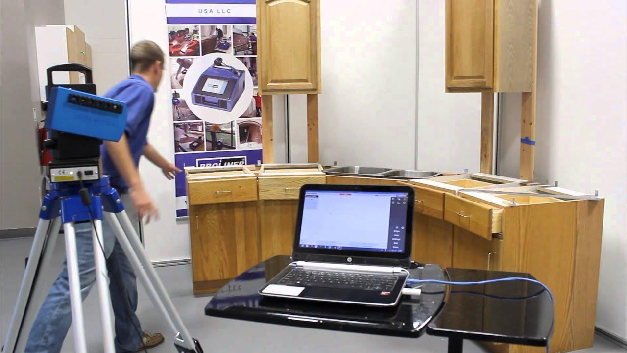 Prodim Laser   Countertop Demo