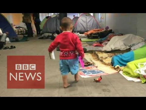 Migrant Crisis: 'This is a European capital city' BBC News