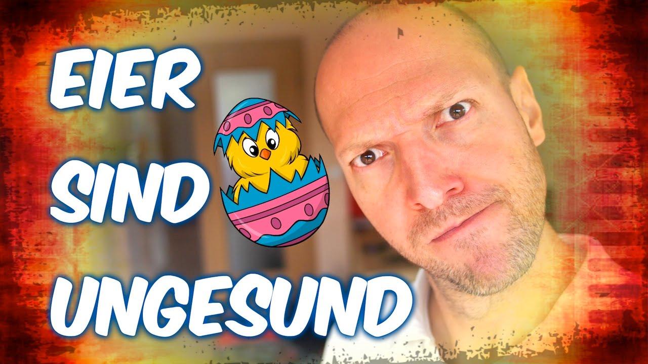 Eier sind ungesund - Das Video müsst ihr sehen [VEGAN]