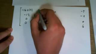 Find the eigenvalues and eigenvectors of a 4x4 matrix works for 2x2, 3x3, nxn
