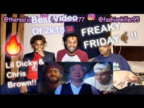 Lil Dicky - Freaky Friday feat. Chris Brown (Official Music Video)(REACTION!!)