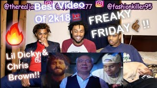 Lil Dicky - Freaky Friday feat. Chris Brown (Official Music Video)  (REACTION!!)