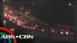 What caused monstrous NLEX traffic