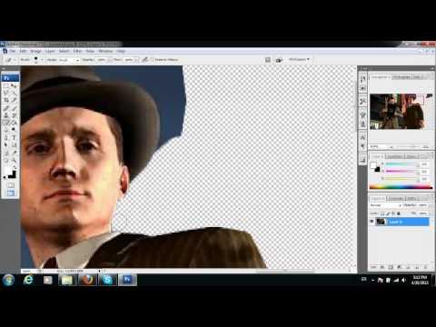 สอนตัดภาพ Photoshop CS3