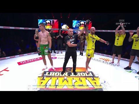 AFN Free Fight: Norbert Daszkiewicz vs Maciej Kaliciński | MINUTOR Energia Armia Fight Night 8