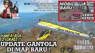 Rules Of Survival Indonesia NEW MAP UPDATE ! - Lokasi Gantola / Glider dan Mobil Baru