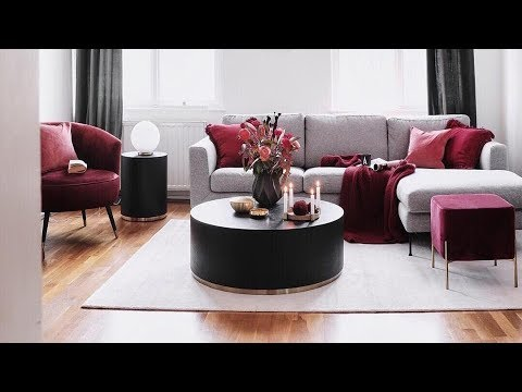 INTERIOR DESIGN / Gray Living room design decor ideas / Living Room 2019 / Home DECOR