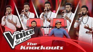 Isuru Deshan | Hamara Banavara (හමාර බණවර) | The Knockouts | The Voice Sri Lanka Thumbnail