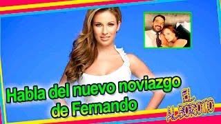 Reacciona ante la nueva pareja de Fernando del Solar.  Ingrid Coronado