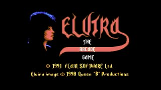 Commodore 64 Longplay [146] Elvira - The Arcade Game (EU)