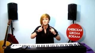 """Виталия Диденко [Урок №1] - """"Основная причина зажимов в голосе"""" (для новичков/аматоров)."""