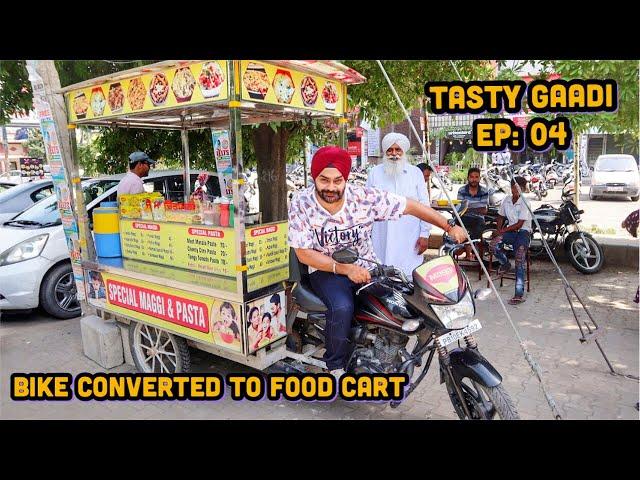 Sandy Ji HONDA BIKE Wale 🏍   Tasty Gaadi   Ludhiana Food