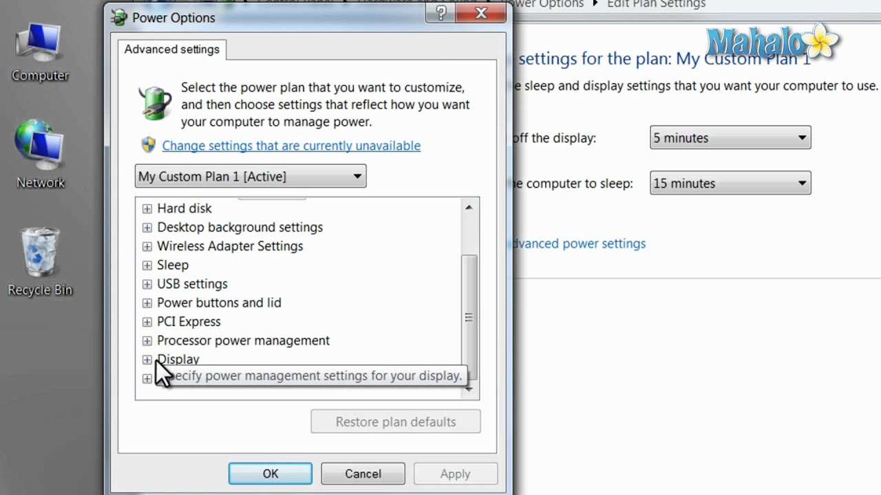 Learn Windows 7 - Power Management