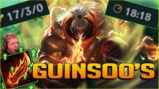REWORKED GUINSOO'S IS TOO OP!! I CAN'T STOP LAUGHING AT THIS DAMAGE!! NEW JAX TOP GAMEPLAY - PBE