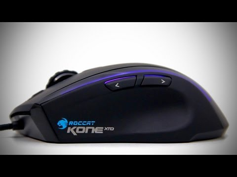 ROCCAT Kone XTD Gaming Mouse Unboxing & Overview