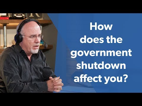 How does the government shutdown affect you?