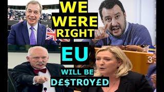 ANTI-EU MEP's DEMOLISH VERHOFSTADT, WEBER & EU RE: GREEK REF - FARAGE, SALVINI, KORWIN-MIKKE, LE
