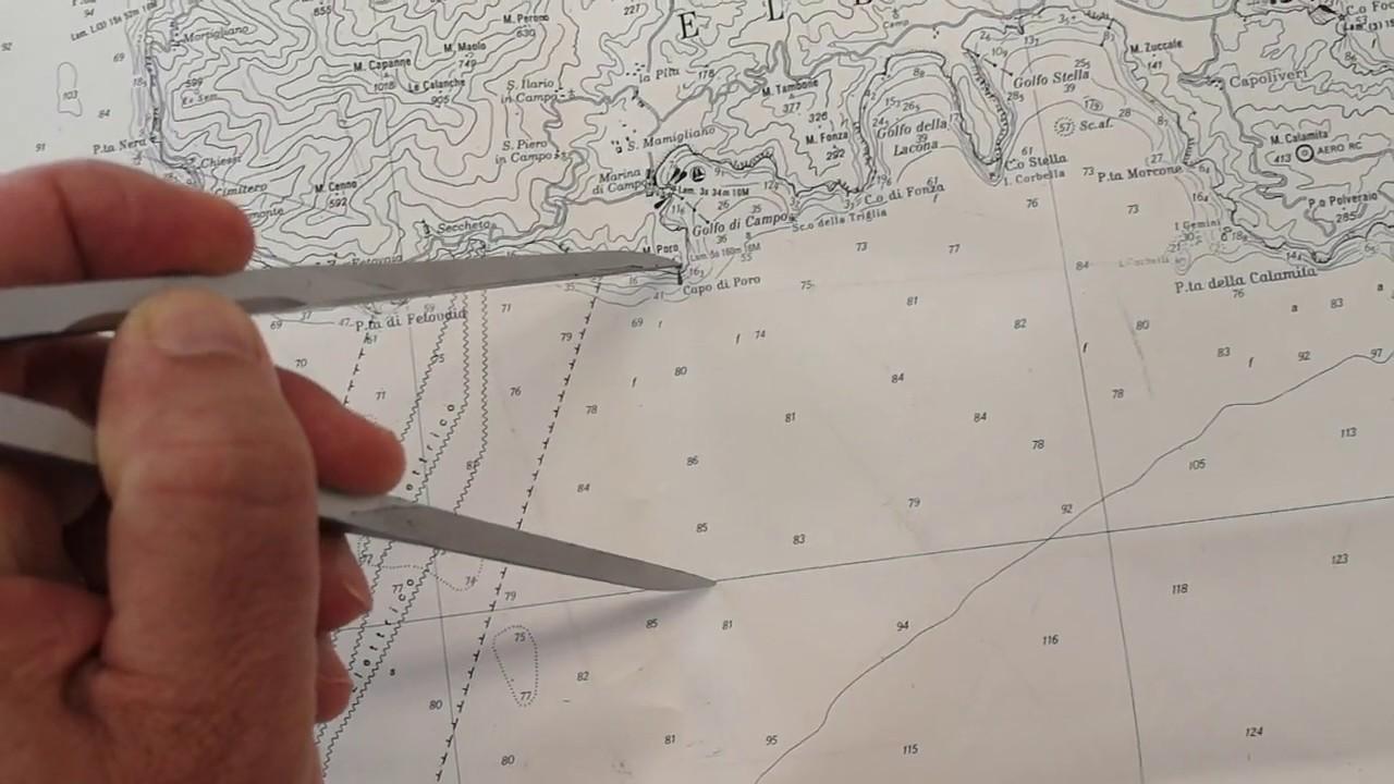 Cartina 5d.Patente Nautica Leggere Le Coordinate Geografiche Sulla Carta Nautica 5d Youtube