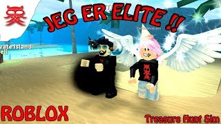Jeg er Elite - Treasure Hunt Sim - Dansk Roblox