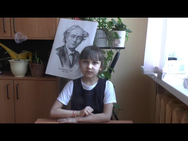 Изображение предпросмотра прочтения – КристинаПерова читает произведение «Весна (Зима не даром злится…)» Ф.И.Тютчева