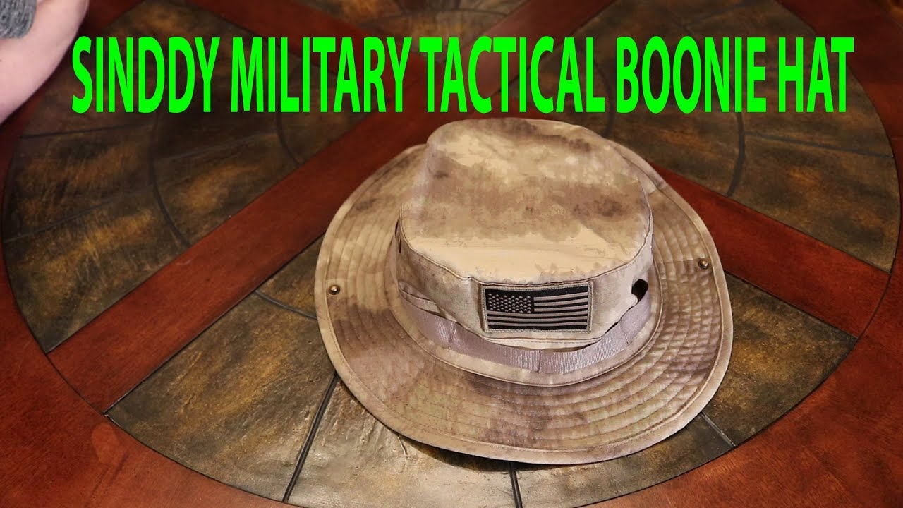 8bb7ce104aa55 Sinddy Military Tactical Boonie Hat Review - YouTube