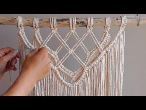diy-macrame-tutorial---intermediate-wall-hanging-part-1