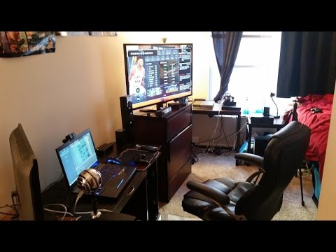 Ultimate College Apartment Gaming Setup YouTube