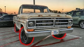 F100 Gets Some New Tires!