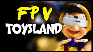 FPV TOYSLAND | FPV dei BALOCCHI | ImmersionRC RapidFire Test | Drone FPV FreeStyle (ENG Subs)