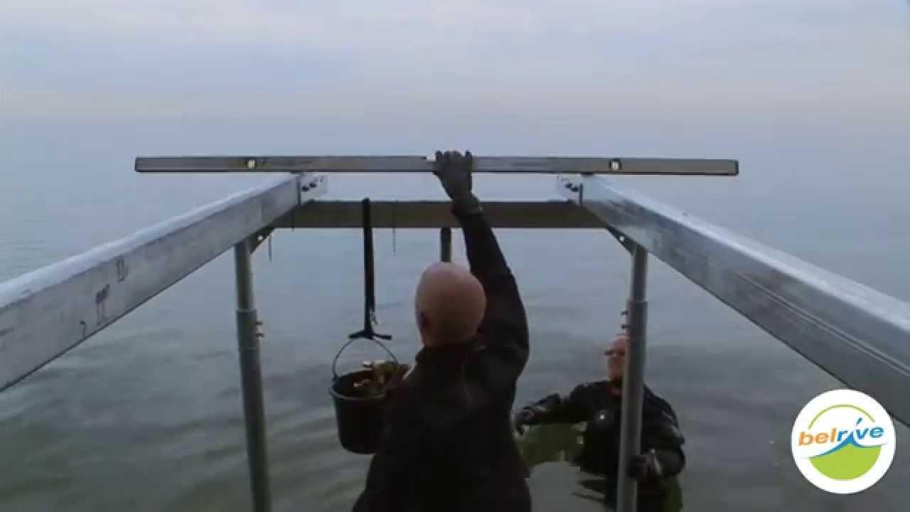 Comment construire un ponton en bois belrive youtube - Construire un berceau en bois ...