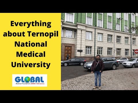 Ternopil National Medical University - Introduction, Fees (Full information)