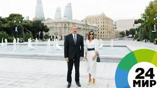 В Баку восстановили исторический фонтан «Лебеди» - МИР 24