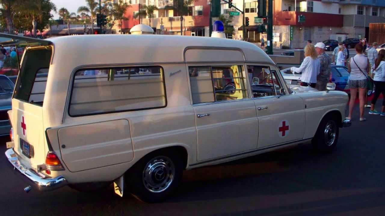 Rare 1967 Vintage Mercedes Ambulance - YouTube