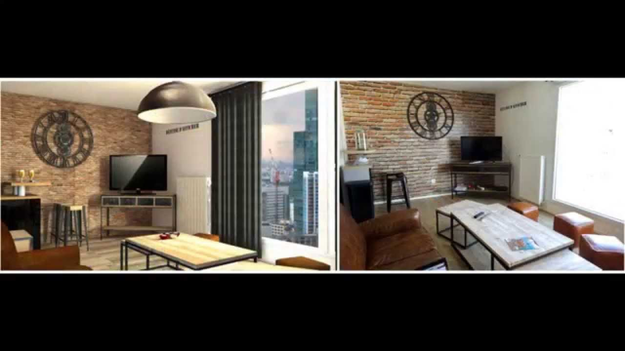 Projet de d coration int rieure style industriel youtube - Decoration style industriel design ...