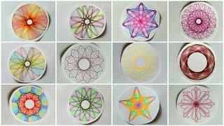 Spirograph Designs Compilation #2
