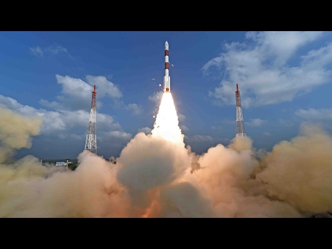 ISRO launches 104 satellites; breaks Russia's record
