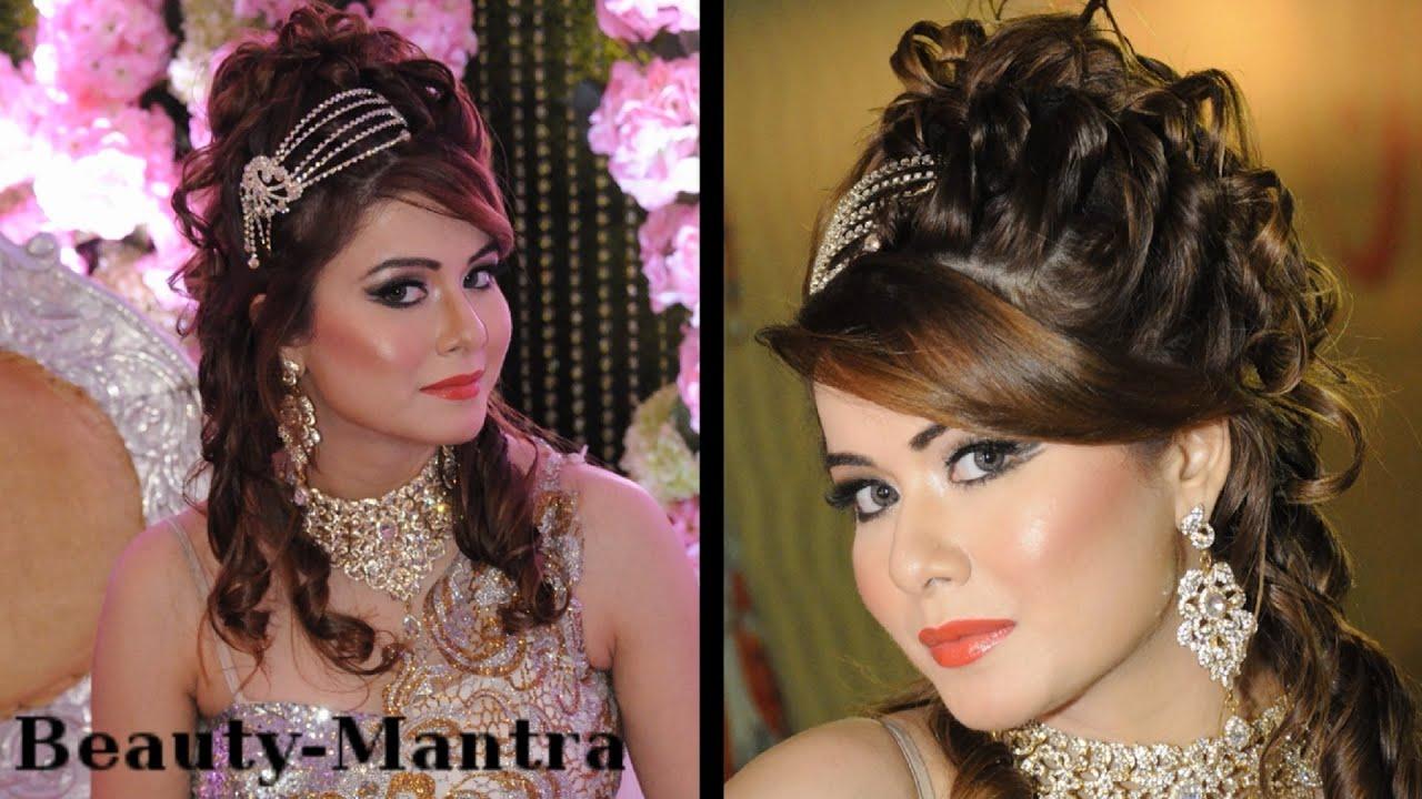 wedding makeup - complete hair