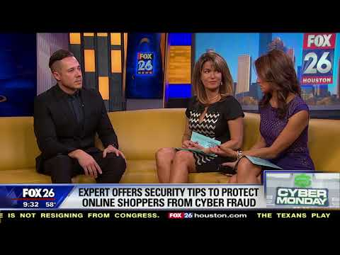 Cyber Monday tips - Interview on KRIV Houston Fox News 26