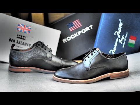 Купил туфли по 40$ от Ben Sherman, Rockport, Massimo Matteo для восстановления