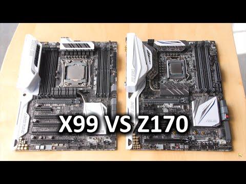 Intel 5820K vs 6700K CPU Showdown