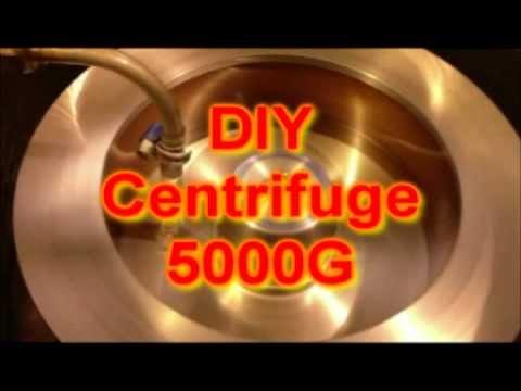 DIY 5000G Centrifuge - YouTube